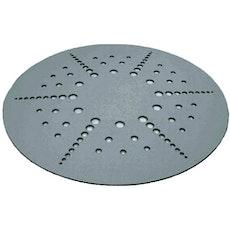 Circles Felt Carpet - Grey