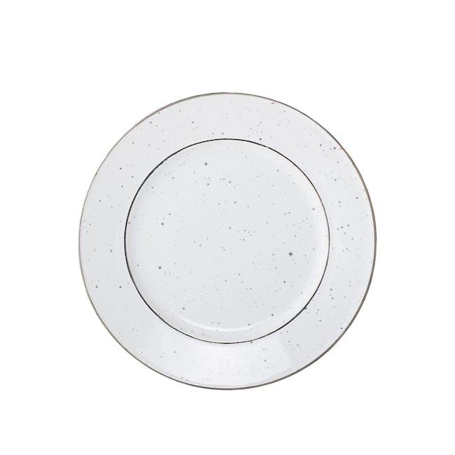 Dani Side Plate - White - 0