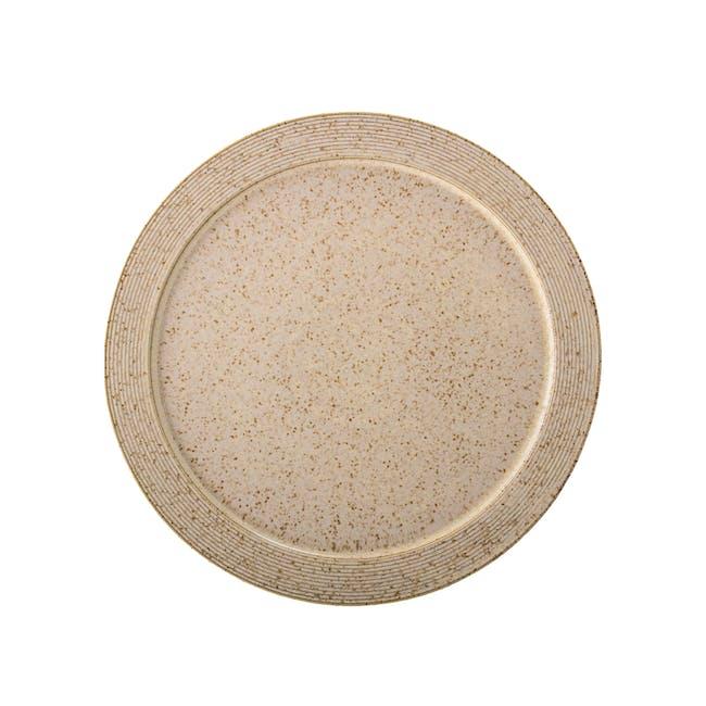 Lena Dinner Plate - Brown (Set of 2) - 1