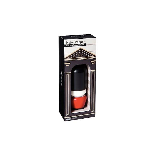PELEG DESIGN Major Pepper Salt and Pepper Shaker Set - 4