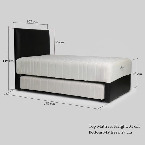 Life Balance By Serta Unison 3 In 1 Super Single Bed Hipvan