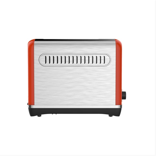 Odette Streamline 4-Slice Bread Toaster - Orange - 4