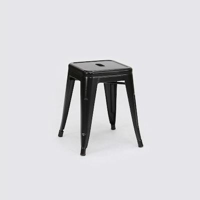Tolix Stool - Glossy Black