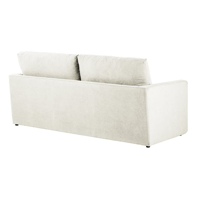 Ashley 3 Seater Lounge Sofa -Pearl - 5