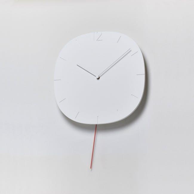 Carved Se Clock - 2