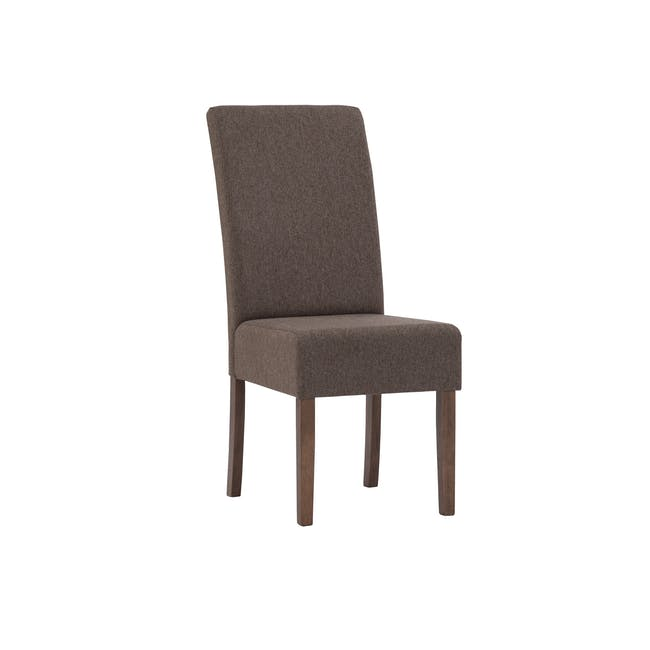 Nora Dining Chair - Cocoa, Chestnut - 0