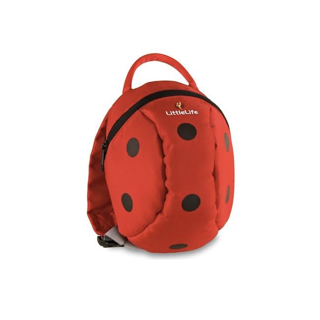 LittleLife Animal Toddler Backpack - Ladybird - 0