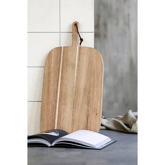 Nicolas Vahe Acacia Cutting Board - Bread - 2