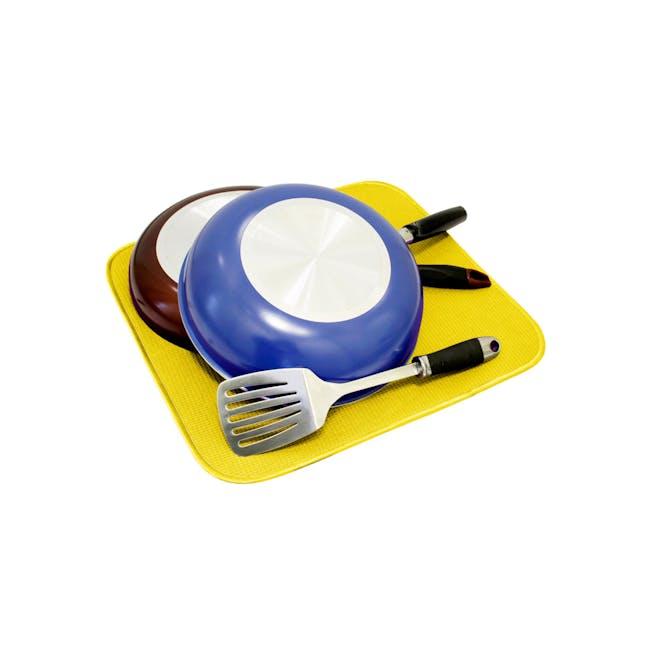 Dish Drying Mat Lemon - 2