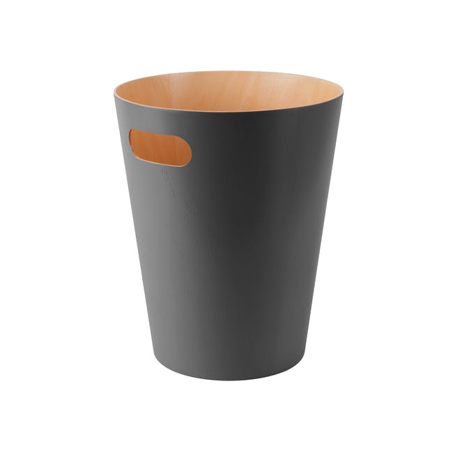 Woodrow Can - Natural, Charcoal - 0