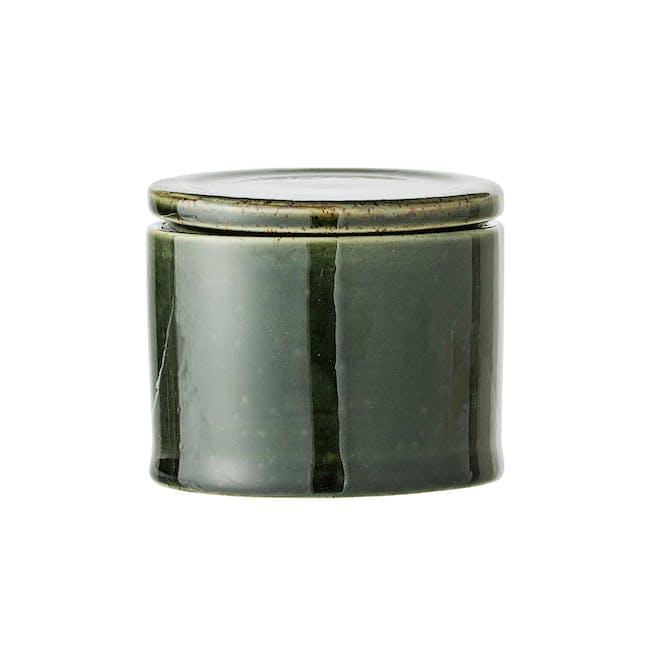 Sofi Jar with Lid - Green - 0