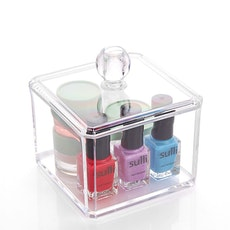 Acrylic Single Tier Mini Storage Box