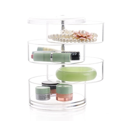 4-Section Acrylic Swivel Organizer - Image 2