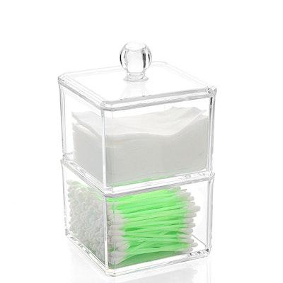 Acrylic Double Tier Mini Storage Box