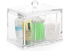 Acrylic Cotton Pad and Cotton Swab Holder
