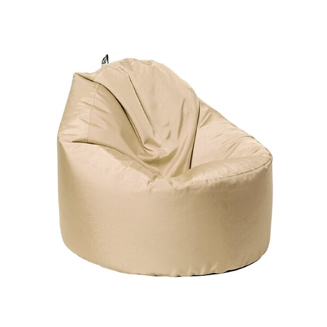 Oomph Spill-Proof Bean Bag - Barley Beige (2 Sizes) - 0