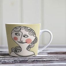 Familjen Mug - Yellow