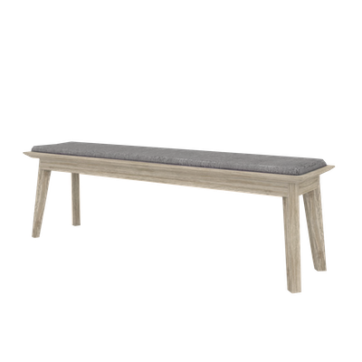 Leland Cushioned Bench 1.5m - Image 2