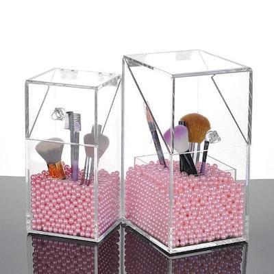 Vanita Brush Holder - Pink - Image 2