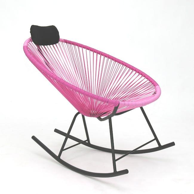 Acapulco Lounge Chair - Robin Blue, White, Black Mix - 2