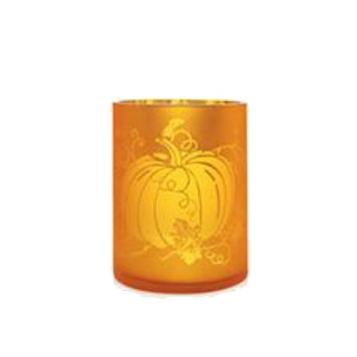 Elegant Pumpkin Votive Holder