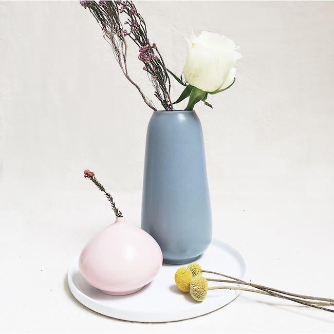 Ceramic Display Tray - White - 5