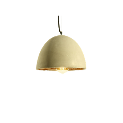 Thirza Concrete Dome Lamp - Image 1