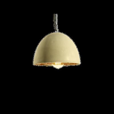 Thirza Concrete Dome Lamp