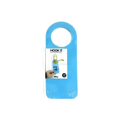 Hook It Doorknob Memos - Blue - Image 1