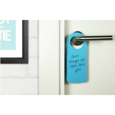 Hook It Doorknob Memos - Blue - Image 2