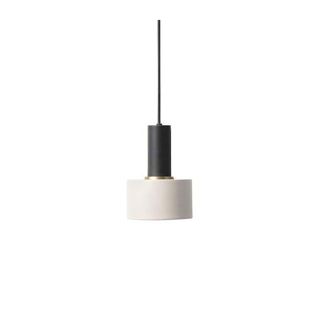 Victoria Pendant Lamp - Black, Light Grey - 0