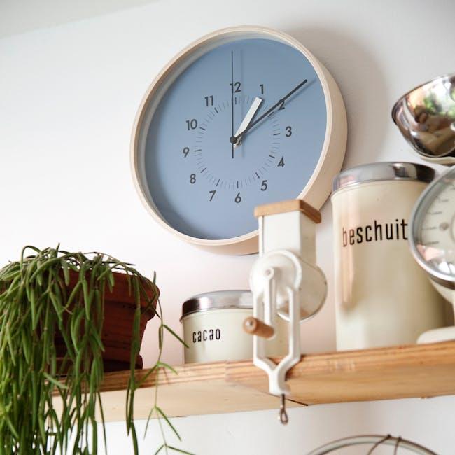 SOSO Clock - Blue - 2