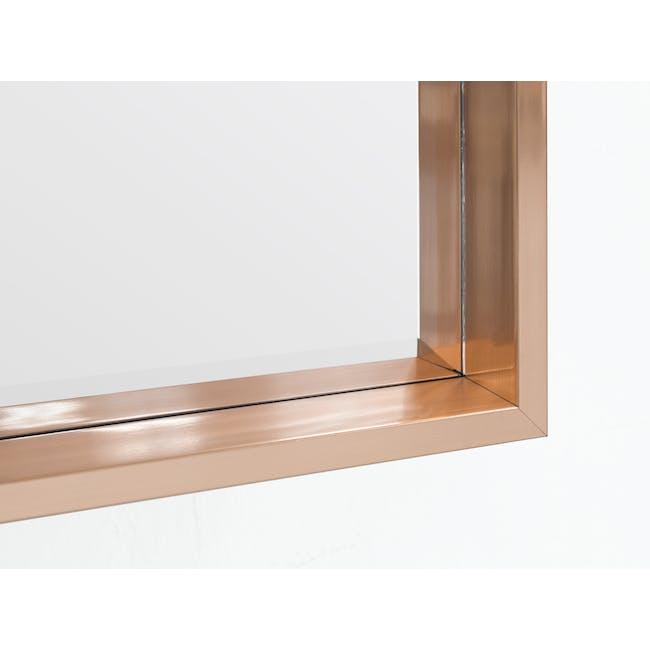 Julia Half-Length Mirror 60 x 80 cm - Rose Gold - 1