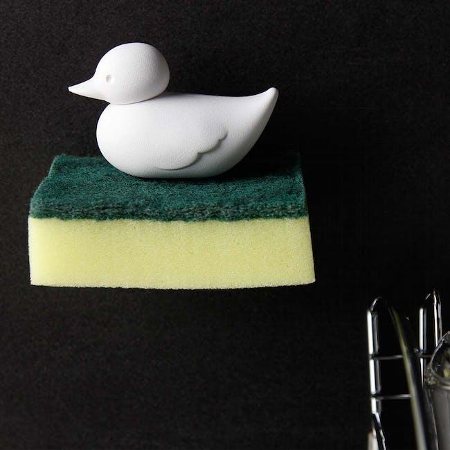 Duck Sponge Holder - White - 2