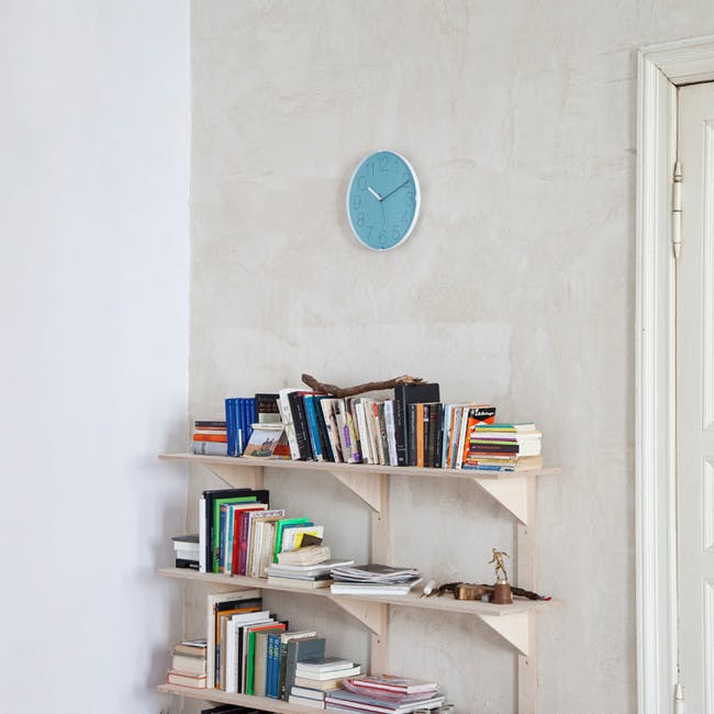 Cara Wall Clock - Orange - 3