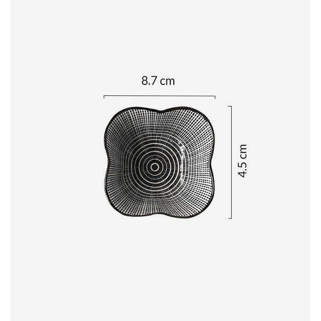 Table Matters Scattered Lines Saucer (2 Sizes) - 5