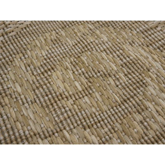 Timber Round Flatwoven Rug 1.2m - Brown - 1
