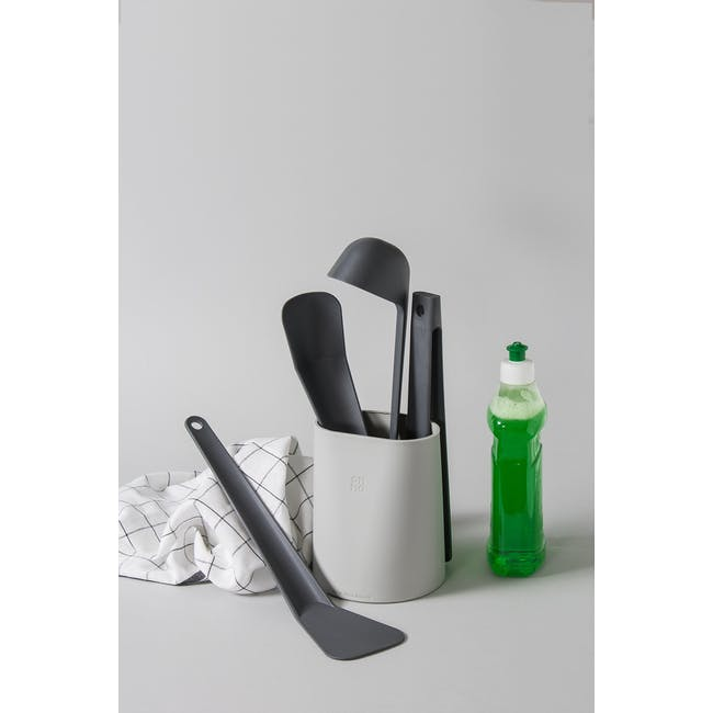 OMMO 5-Pc Cooking Utensils Tools Set - 4