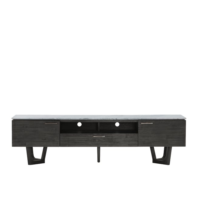 Carson Marble TV Console 2m with Carson Marble Coffee Table - 7