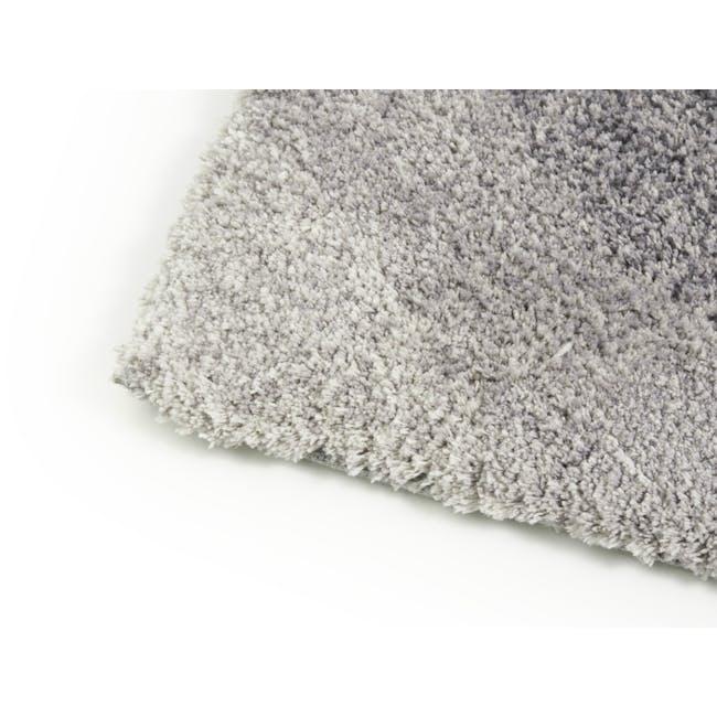 Cloud High Pile Rug 2.9m x 2.0m - Grey Diagonal - 3