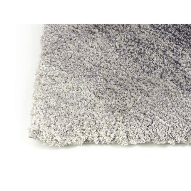 Cloud High Pile Rug 2.9m x 2.0m - Grey Diagonal - 2