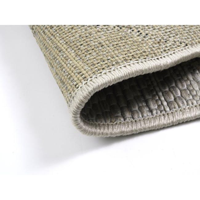 Mira Flatwoven Rug 2.9m x 2m  - Ecru Stitch - 4