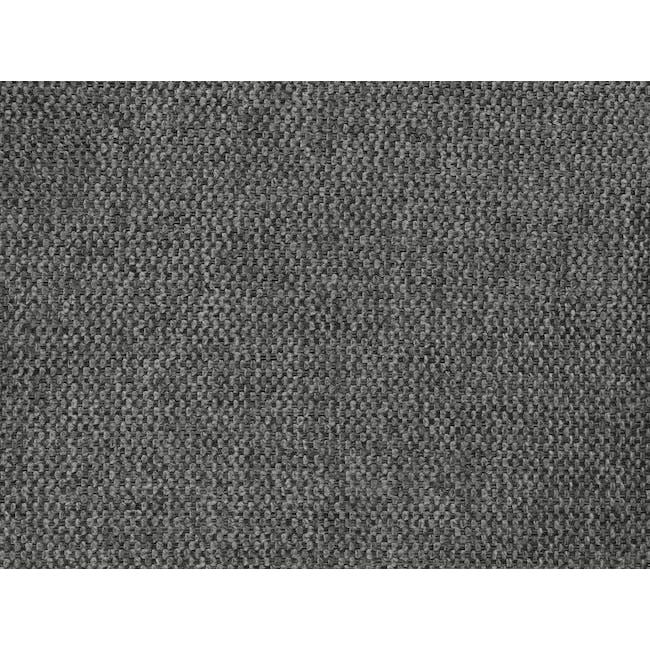 Lexi Queen 3 Drawer Bed - Shark Grey (Fabric) - 11