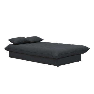 Tessa 3 Seater Storage Sofa Bed - Granite - Image 2