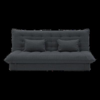 Tessa 3 Seater Storage Sofa Bed - Granite - Image 1