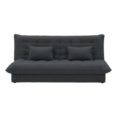 Tessa 3 Seater Storage Sofa Bed - Granite - Image 1