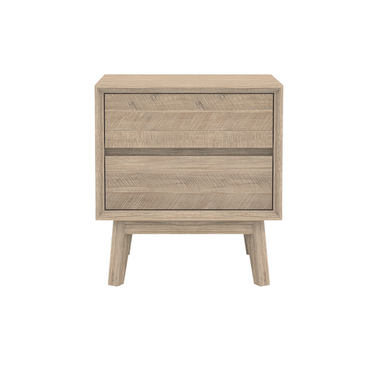 Leland by HipVan - Leland Twin Drawer Bedside Table