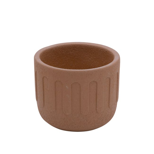 Drip Pot - Brick Red - 0
