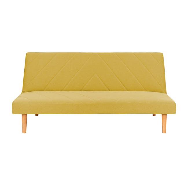 Laura Sofa Bed - Custard - 0
