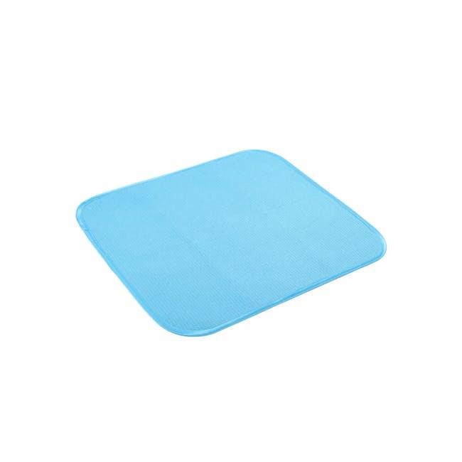 Dish Drying Mat Sea Blue - 1